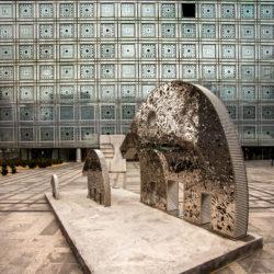 châssis pare-flamme PYROTEK pour l'Institut du Monde Arabe à Paris